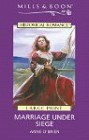 Marriage Under Siege (UK- Hardcover- Large Print)
