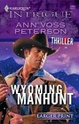 Wyoming Manhunt (Large Print)
