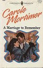 Marriage to Remember. A