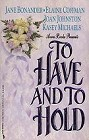 To Have and to Hold (Anthology)