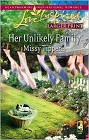 Her Unlikely Family (Large Print)