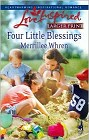 Four Little Blessings (Large Print)
