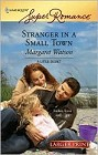 Stranger in a Small Town (Large Print)