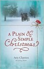 Plain and Simple Christmas, A (hardcover)