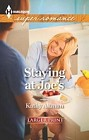 Staying at Joe's  (large print)