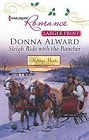 Sleigh Ride with the Rancher  (large print)