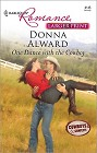 One Dance with the Cowboy (Large Print)
