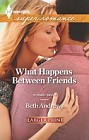What Happens Between Friends  (large print)