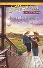 Heart of a Rancher  (large print)