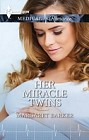 Her Miracle Twins  (large print)