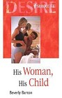 His Woman, His Child  (Hardcover/Large Print)