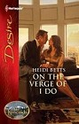 On the Verge of I Do