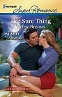 Her Sure Thing  (large print)