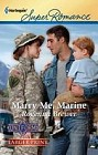 Marry Me, Marine  (large print)