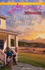 Big Sky Family  (large print)