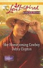 Her Homecoming Cowboy  (large print)