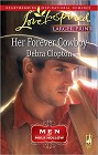 Her Forever Cowboy (Large Print)