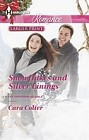 Snowflakes and Silver Linings  (large print)
