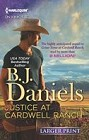 Justice at Cardwell Ranch   (large print)