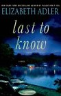 Last to Know (hardcover)