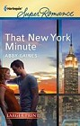 That New York Minute  (large print)