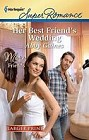 Her Best Friend's Wedding  (large print)