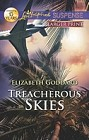 Treacherous Skies  (large print)