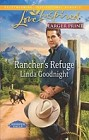 Rancher's Refuge  (large print)