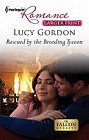 Rescued by the Brooding Tycoon  (large print)