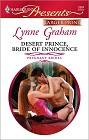 Desert Prince, Bride of Innocence (Large Print)