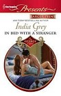 In Bed With a Stranger  (large print)