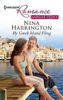 My Greek Island Fling  (large print)