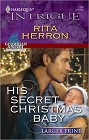 His Secret Christmas Baby (Large Print)