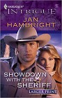 Showdown With the Sheriff [Large Print]