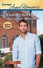 Finding Her Dad  (large print)
