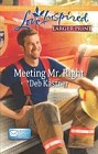 Meeting Mr. Right  (large print)