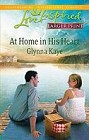 At Home in His Heart  (large print)