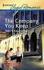 Company You Keep, The  (large print)