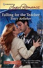 Falling For the Teacher  (Large Print)