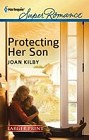 Protecting Her Son  (large print)