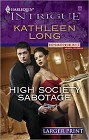 High Society Sabotage [Large Print]