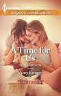 Time For Us, A  (large print)