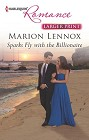 Sparks Fly with the Billionaire  (large print)