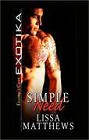 Simple Need (ebook)