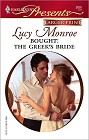 Bought: The Greek's Bride [Large Print]