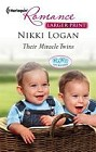 Their Miracle Twins  (large print)