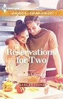 Reservations for Two  (large print)