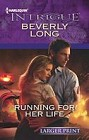 Running for Her Life  (large print)