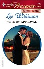 Wife By Approval [Large Print]