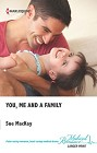 You, Me and a family  (large print)